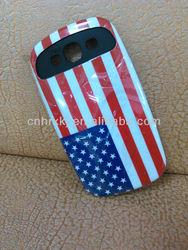 Factory Direct Sell Mobile Phone Case for Samsung 9300, IMD Flag Design