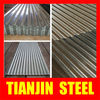 Galvanized corrugated steel tiles