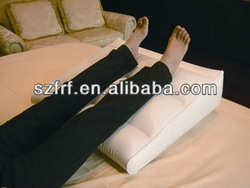 Inflatable leg pillow,leg cushion,leg raiser