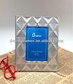 personalizado de recuerdos de aluminio marco de fotos con el diamante