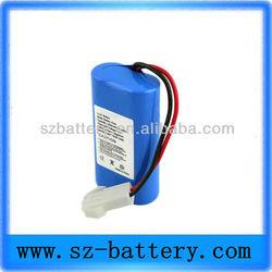 POS machine battery 7.4V 1800mah rechargable lithium battery
