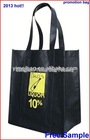 2013 cheap price cheap cheer bag non woven shopping bag for promo