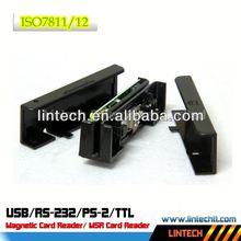 JIS Standard F2F Decoder 90mm msr integrated smart card reader