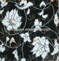 fiore di vetro mosaico in puzzle modello art design per carta da parati