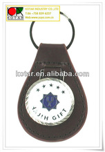custom made leather keychains,leather photo keychain,leather key fob