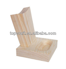 Plain Wood/ New Wooden Stand for Mobile Phone 7 cm x 8cm x 9cm HandCraft