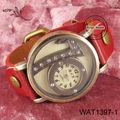 70 segno pu cinturino in pelle orologio