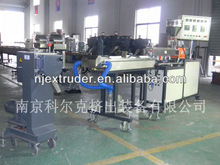 small ouput twin screw plastic laboratory extruder