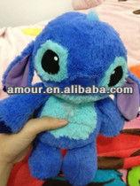 cute stuffed stitch toy soft cartoon blue stitch for girls best made valentine gifts for girls