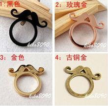 black moustache ring fancy ring cheap