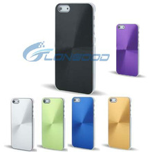 Plating aluminum case for iphone 5 with CD design