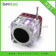 2012 hot sell battery powered portable speaker of hifi sound