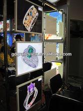 Fast food menu light box frame