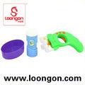 Loongon pas cher des armes-jouets plastiques b / o jouets savon bulle pistolet à eau
