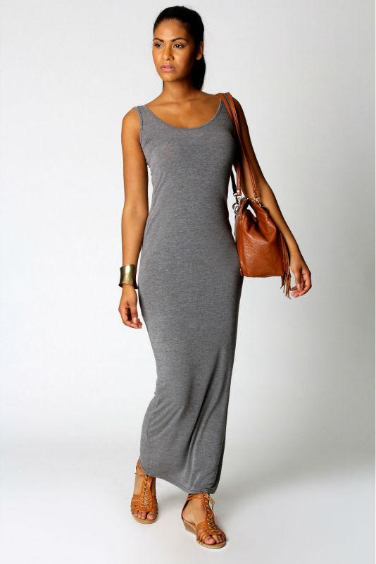 Jersey Dress Cheap Plain Dress