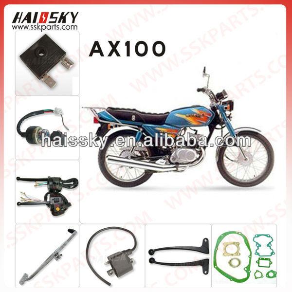 AX100 motorcycle body parts for suzuki