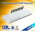8 channel gsm voice gateway GoIP-8