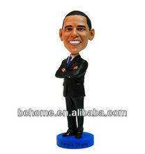 resin bobble head figurine president