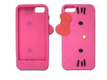 hello kitty shaped phone cases,mobile phone cover,case,cute 3d case,colorful ,china factory
