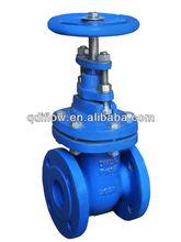 Cast iron DIN 3352 F4 gate valve with metal seat