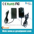 24v 1.5a 36w parede plug ac dc adaptador de energia fornecedor fabrico e exportador