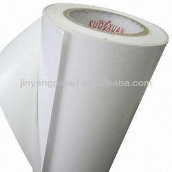 label sticker paper of hotmelt glue