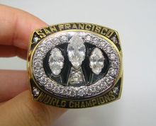 2012 49er football Championship sports ring