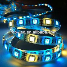 Shenzhen Reputation high lumen 5050 60leds/m battery powered led ribbon lights
