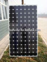 High efficiency Framed design 130w photovoltaic solar panel