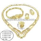 african jewelry set 18k gold plated pakistani bridal fashion