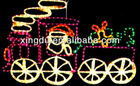 2013 hot selling colorful rope light train with normal rope light