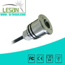 Hot sale!CREE/Edison chip DMX control underwater rgb led lights