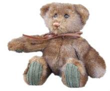 All of our Soft Toys Minky Dark Brown Teddy Bear Brown bear animal Soft Toy