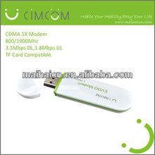 cheap price cdma sim card modem / 3g usb data card for cdma- MH6085