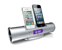Super deal retro docking station Christmas speaker for ipod iphone gift 2*8W