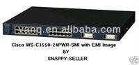 100% original used cisco second hand switch Cisco 3550 WS-C3550-24PWR-SMI with warranty