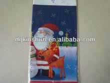 Christmas design table cover santa claus design