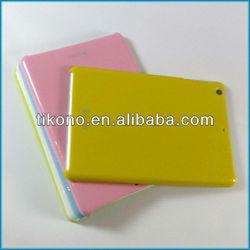 High quality luminous hard case for ipad mini, can discolor