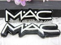 DIY flat back resin MAC logo cabochons