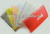 Durable Soft Transparent Clear Plastic Case for Nokia Lumia 920