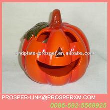 Wholesale halloween ceramic pumpkin