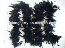 Black Feather Boa
