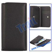 Hot-sell!! Wallet Leather Flip Case for Sony Xperia S LT26i with Card Slots