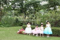 HOT SALE ! FACTORY directly selling pink beach wedding dresses