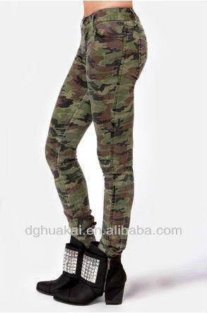 Военные брюки женские
