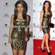 Brand design leopard leopard red short cocktail dresses