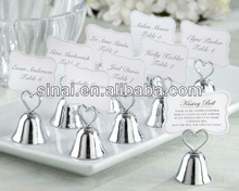 Kissing Bell Place Card Photo Holder