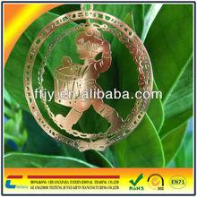 laser cut metal decoration with nice design