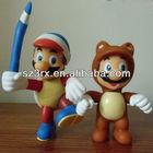 plastic toy wholesale super mario bros;super mario characters toys