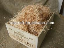 Wooden Wine Box Hamper Box with Wood Wool 12 Blle Box